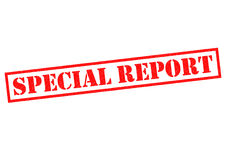 SPECIAL REPORT Royalty Free Stock Image