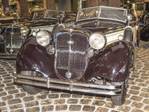 853A-Special-Roadster Horch (1937) max hastighet km/h-135 Royaltyfria Foton