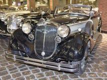 853A-Special-Roadster Horch (1937) max hastighet km/h-135 Fotografering för Bildbyråer