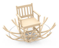 Special rocking chair Stock Image