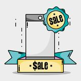Special sale price market shop Royalty Free Stock Photos