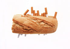 Special sandwich Stock Photo
