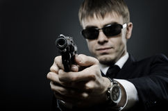 Special-service agent Royalty Free Stock Photo