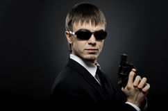 Special-service agent stock images