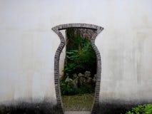 A special shape door Stock Photos