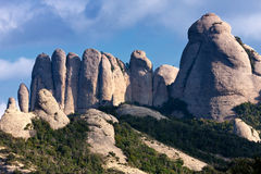 Special shaped rocks Royalty Free Stock Images