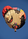 Special shapes hot air balloon Stock Photography