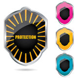 Special shield emblems Stock Photography