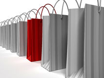 Special Shopping Bag Stock Images