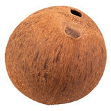 Special single hole of coconut shell difference ot stock photos