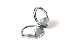 Special small pocket mirror pictures for ladies Royalty Free Stock Image