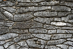 Special stone walls Royalty Free Stock Images