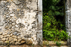 Special stone walls Stock Photography
