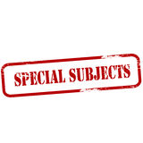 Special subjects Royalty Free Stock Image