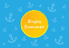Special summer background Royalty Free Stock Photos