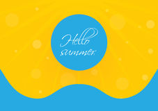Special summer background Royalty Free Stock Photo
