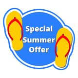 Special summer offer Stock Photos