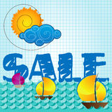 Special summer sale Royalty Free Stock Image