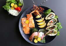 A special sushi dish Stock Image