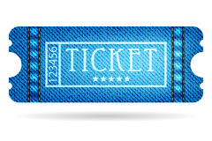 Special ticket Stock Photo