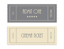 Special  ticket template Stock Photography