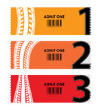 Special tickets Royalty Free Stock Photography