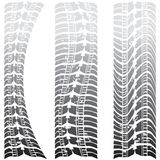 Special tire tracks Stock Image