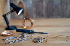 Special tools for repair of clocks. Stock Images