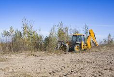 Special traktor royaltyfri fotografi