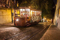 Special tram, Miradouro SaoPedro Royalty Free Stock Images