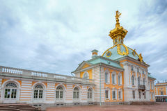 Special Treasury museum of jewels and imperial treasures in Peterhof Royalty Free Stock Photography