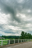 Special type of weather that is also known as Asperatus clouds, Royalty Free Stock Photos