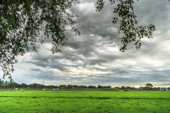 Special type of weather that is also known as Asperatus clouds, Royalty Free Stock Image