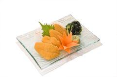 Special-Uni Sashimi Lizenzfreie Stockfotos