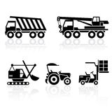 Special vehicles Stock Images