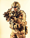 Special warfare operator Stock Images