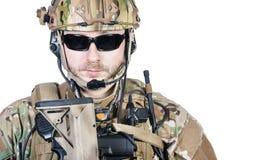 Special warfare operator Stock Photo