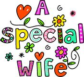 A Special Wife Stock Photos