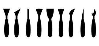 Special working tools icon set Royalty Free Stock Photography