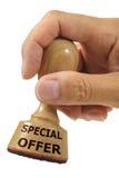 Speciale aanbieding royalty-vrije stock afbeeldingen