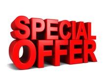 Speciale aanbieding Stock Foto's