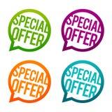 Speciale aanbieding om Knopen Cirkeleps10 Vector royalty-vrije illustratie