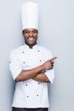 Speciale aanbieding van chef-kok Stock Foto