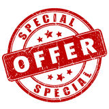 Speciale aanbiedingzegel Stock Afbeelding