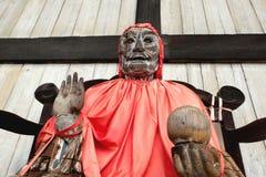Speciale Boedha in de openbare tempel Nara van oriëntatiepuntentodiji Stock Foto