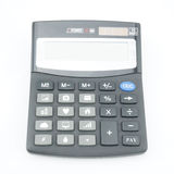 Speciale calculator geïsoleerd op witte achtergrond Stock Foto