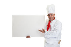 Speciale chef-koks Royalty-vrije Stock Afbeeldingen