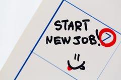 Speciale dagen nieuwe baan stock afbeelding