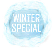 Speciale di inverno Fotografia Stock