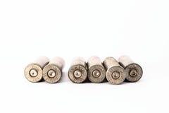 38 speciale die shell omhulsels op witte achtergrond worden geïsoleerd Stock Afbeeldingen
